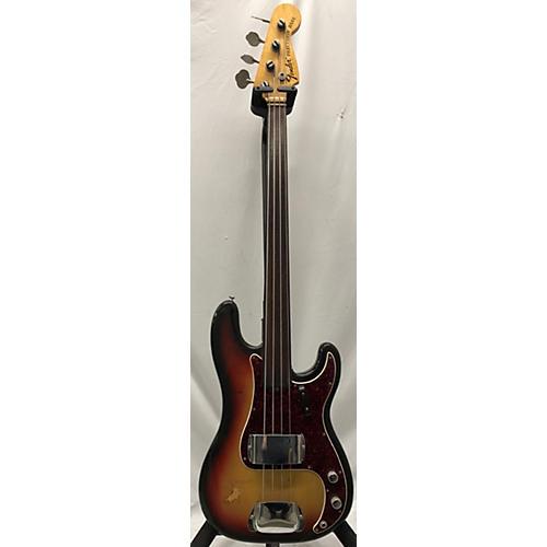 Fender 1972 Standard Precision Bass Fretless Electric Bass Guitar