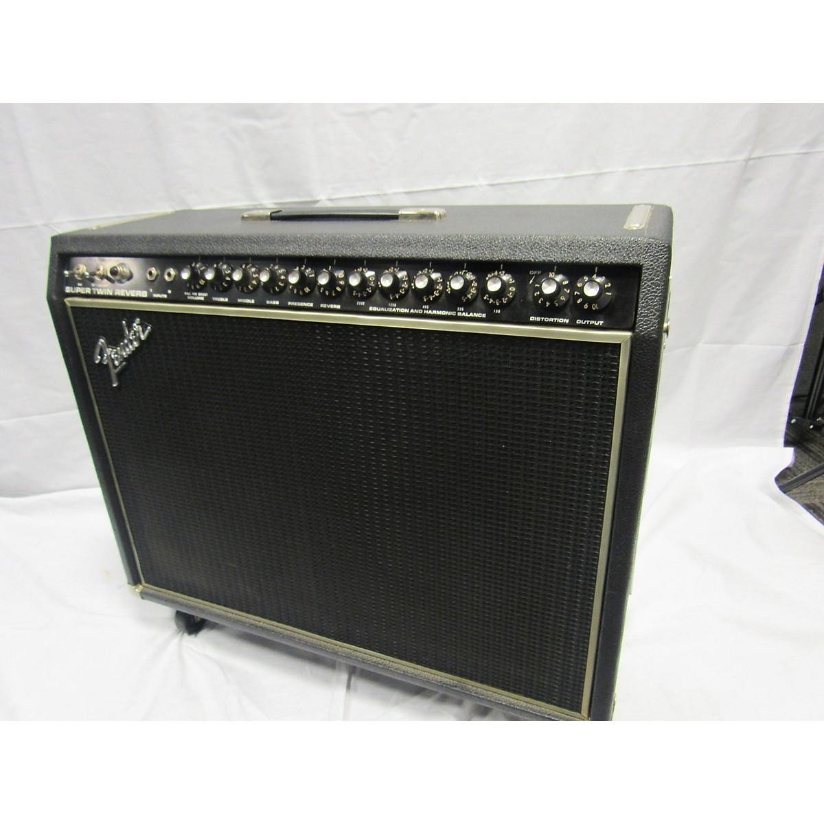 Fender 1972 Super Twin Reverb Tube Guitar Combo Amp