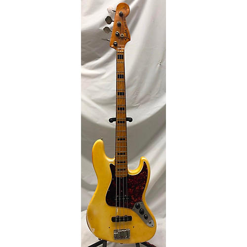 Fender 1973 1973 Fender Jazz Bass Olympic White Electric Bass Guitar