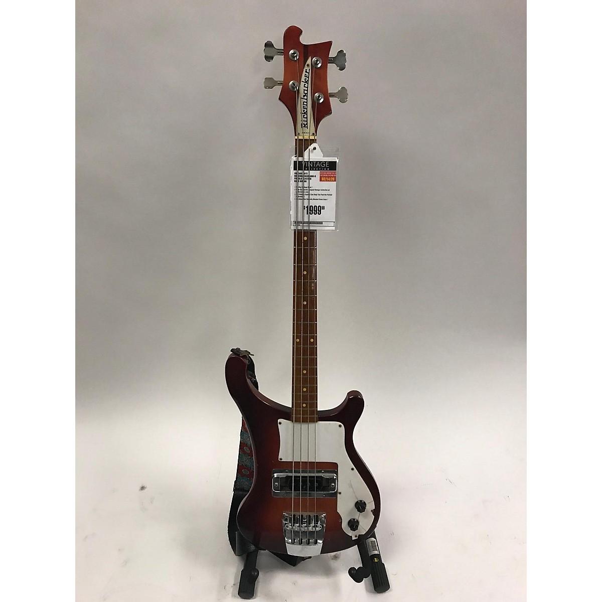Rickenbacker 1973 4000-d Fireglo Electric Bass Guitar