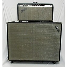 Fender 1973 Bandmaster Reverb Head & Cab Tube Guitar Amp Head