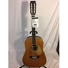 Martin 1973 D1235 12 String Acoustic Guitar