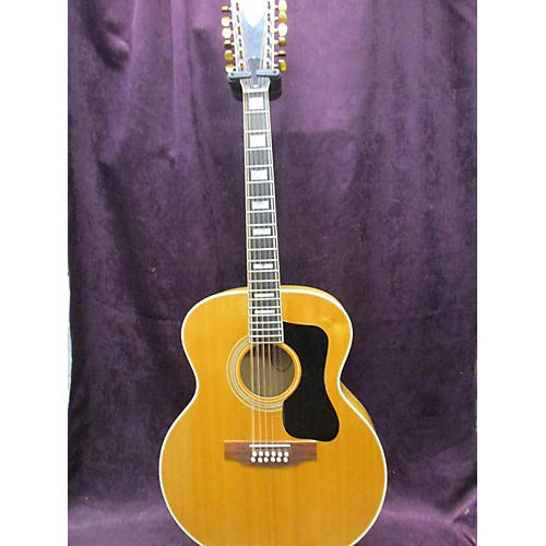 vintage guild 1973 f412 bld 12 string acoustic guitar blonde guitar center. Black Bedroom Furniture Sets. Home Design Ideas