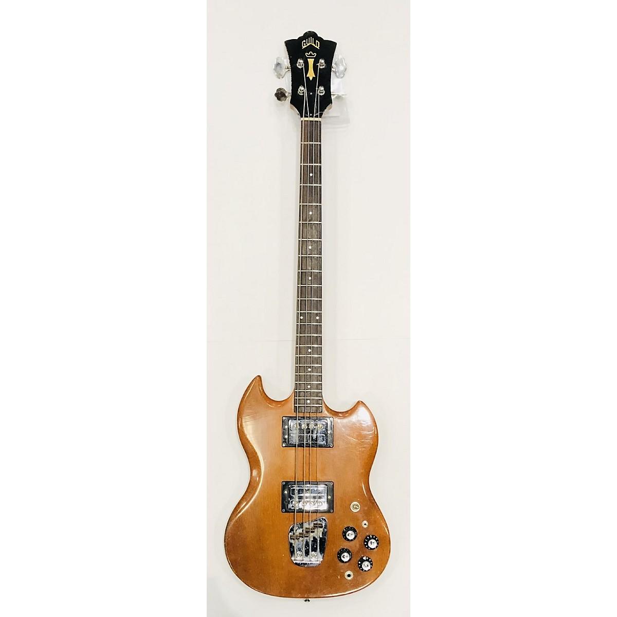 Guild 1973 JET STAR BASS II NATURAL Electric Bass Guitar
