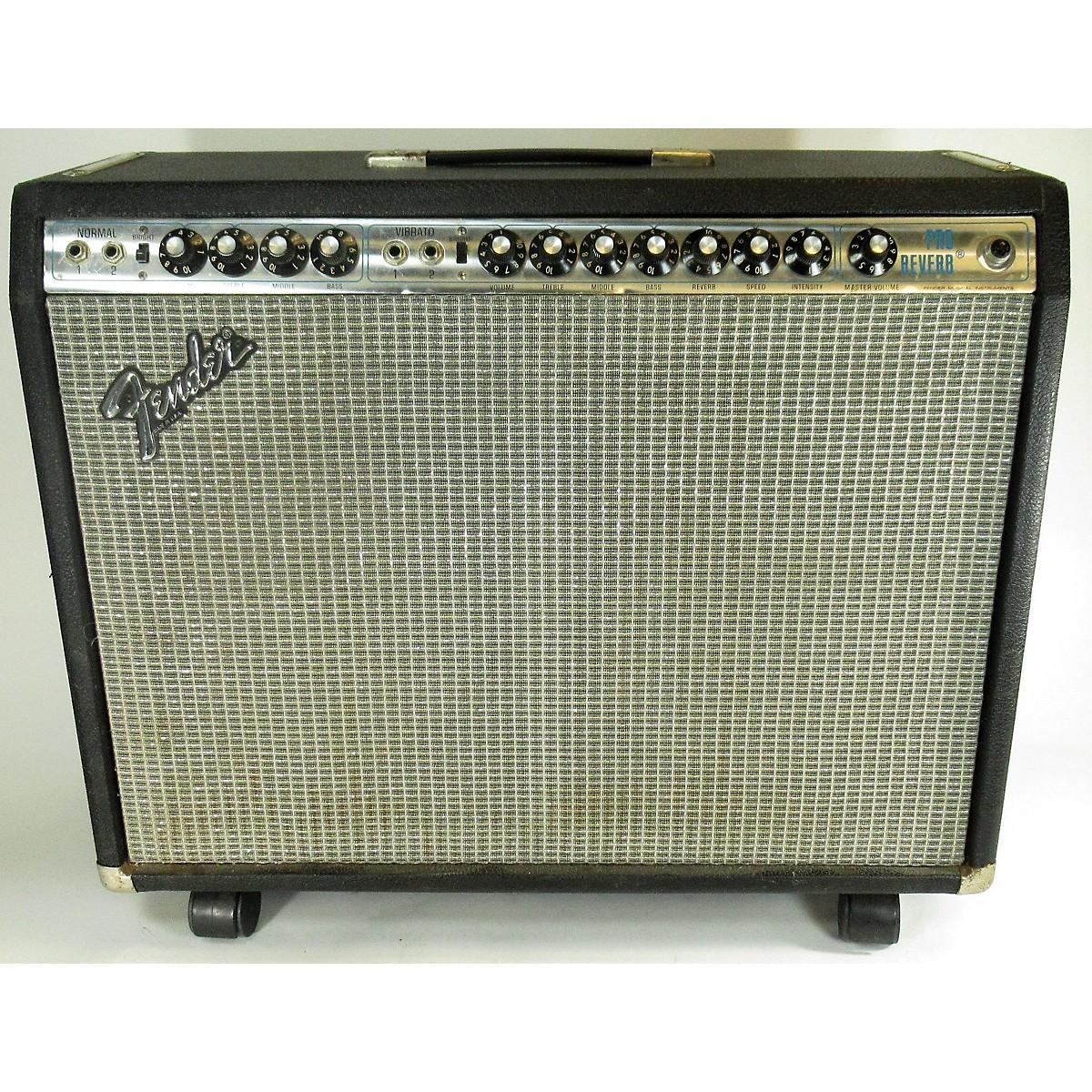 Fender 1973 Pro Reverb Tube Guitar Combo Amp