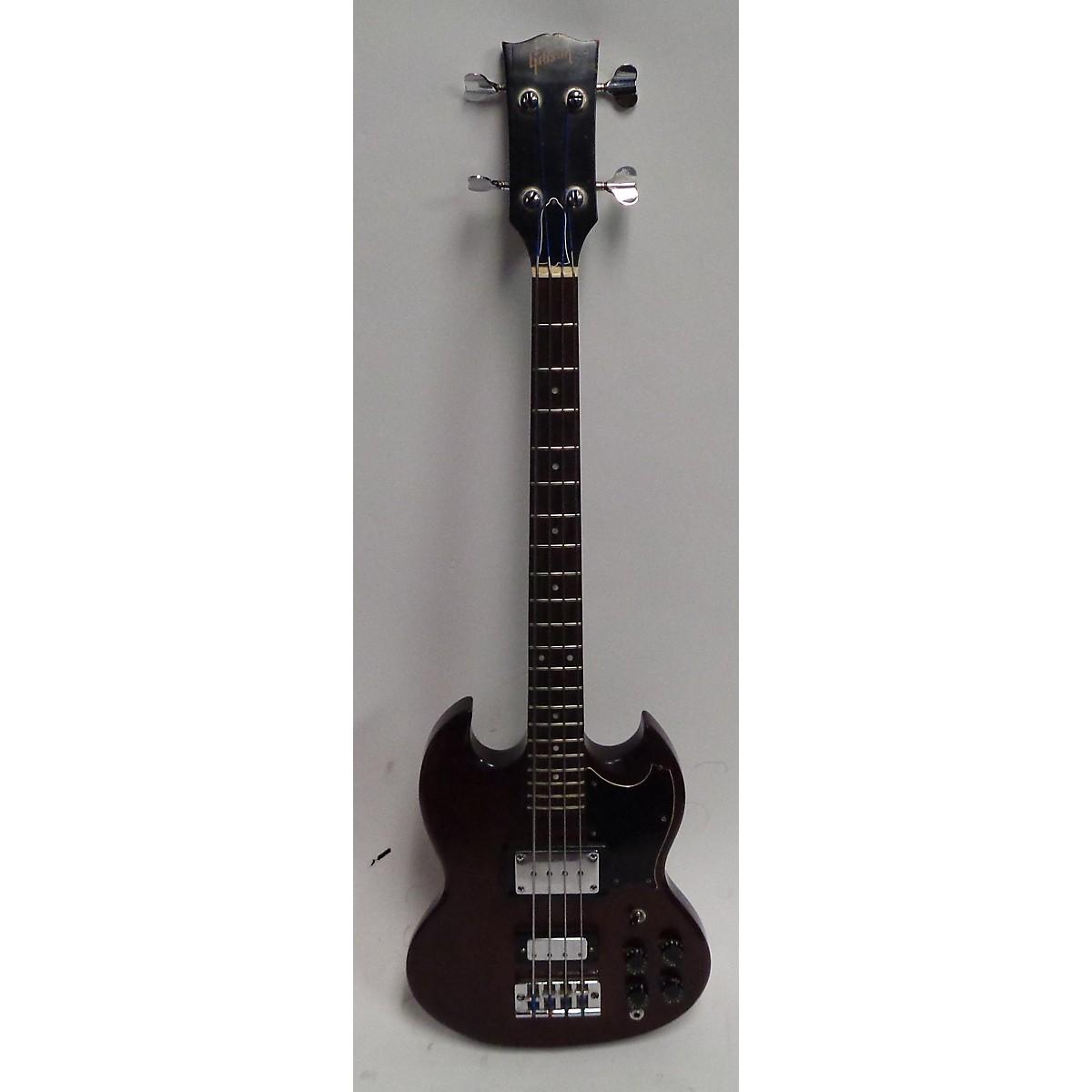 Gibson 1973 SG Bass Electric Bass Guitar