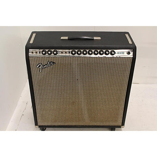 Fender 1973 Super Reverb 4x10 Tube Guitar Combo Amp