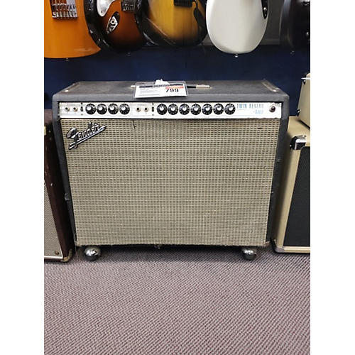 Fender 1973 Twin Reverb 2x12 Tube Guitar Combo Amp