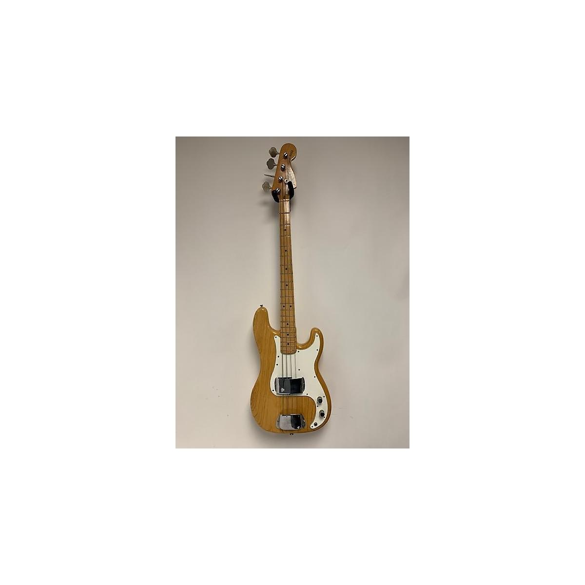 Fender 1974 1974 Fender Precision Bass Natural Electric Bass Guitar