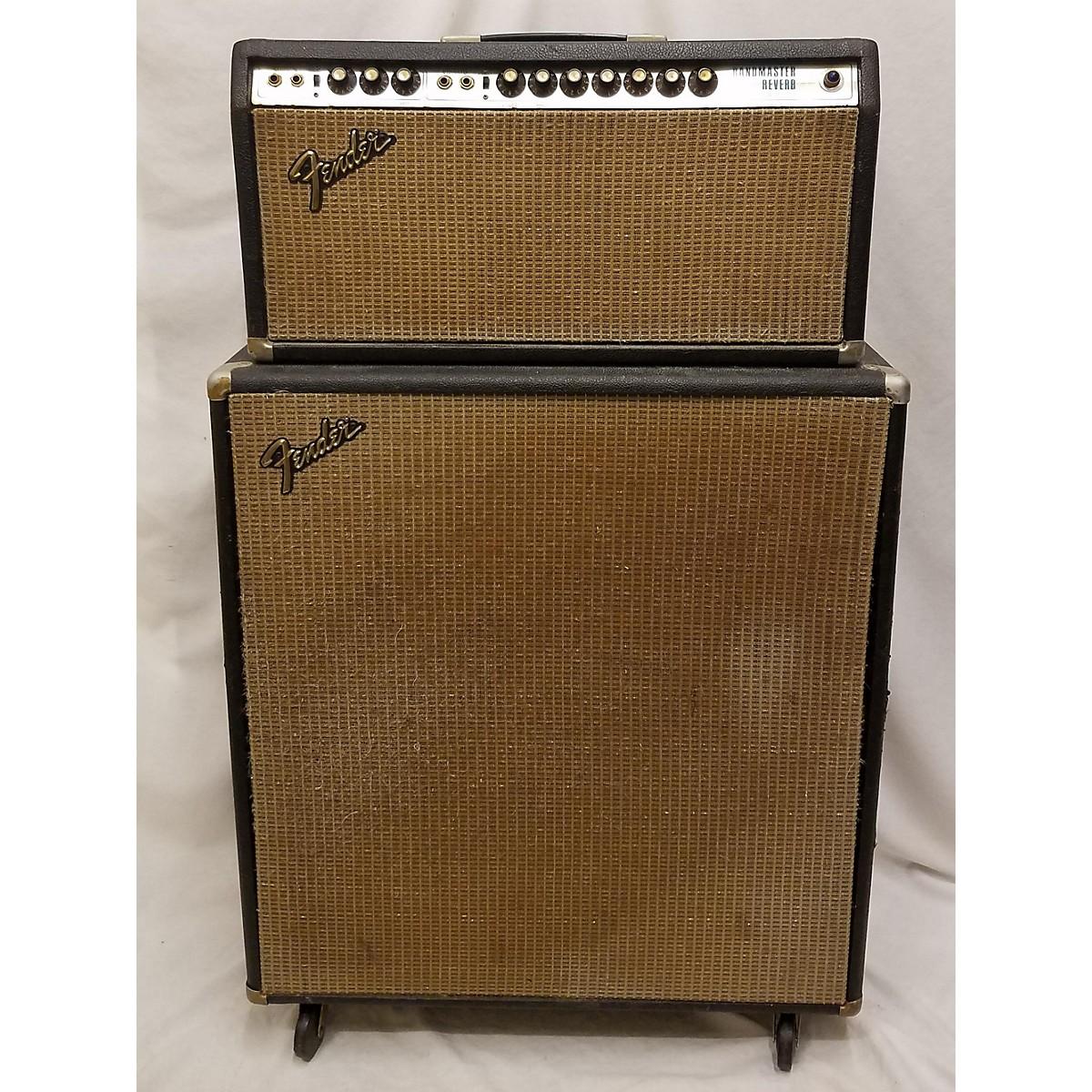 Fender 1974 Bandmaster Reverb Stack Tube Guitar Amp Head