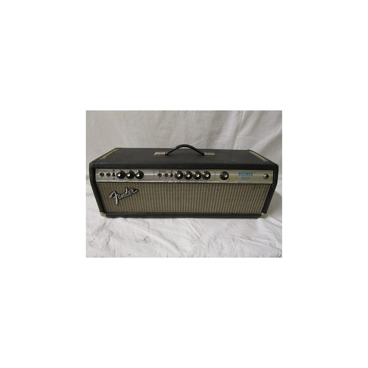 Fender 1974 Bassman 100T 100W Tube Bass Amp Head