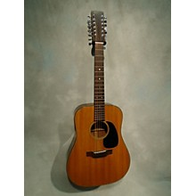 Martin 1974 D-12 18 12 String Acoustic Guitar