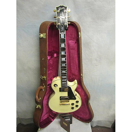 Gibson 1974 Les Paul Custom Reissue VOS Solid Body Electric Guitar