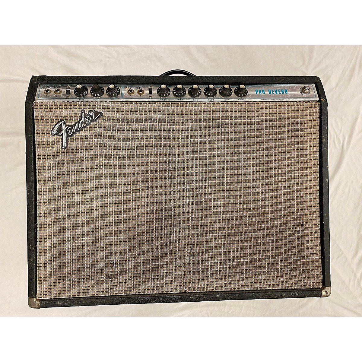 Fender 1974 Pro Reverb Tube Guitar Combo Amp
