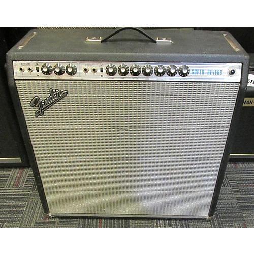 Fender 1974 Super Reverb 4x10 Tube Guitar Combo Amp