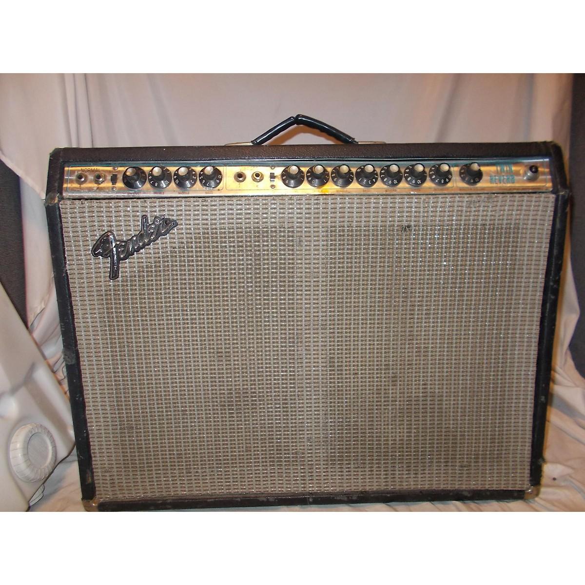 Fender 1974 Twin Reverb 2x12 Tube Guitar Combo Amp