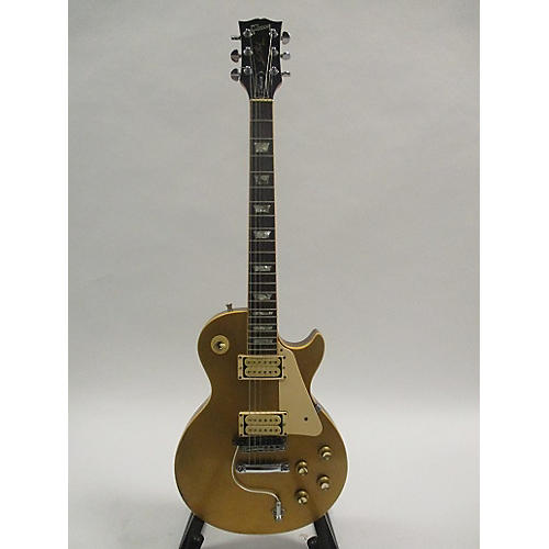 Gibson 1975 1975 Les Paul Deluxe Gold Top Solid Body Electric Guitar