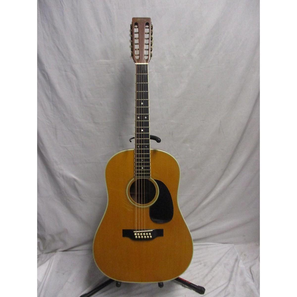 Martin 1975 D-12 35 12 String Acoustic Guitar