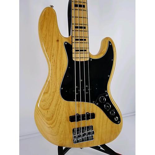 vintage fender 1975 jazz bass electric bass guitar natural guitar center. Black Bedroom Furniture Sets. Home Design Ideas
