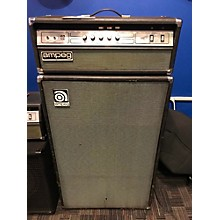 Ampeg 1975 V4B 100W Classic With G60 Cabinet Tube Bass Amp Head