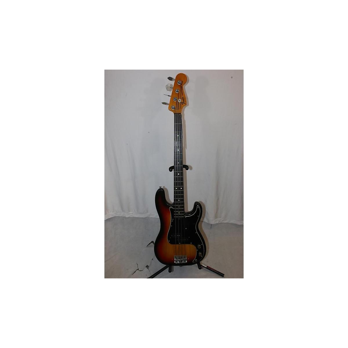Fender 1976 1976 Fender Precision Bass Sunburst OHSC Electric Bass Guitar