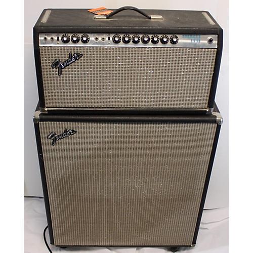 Fender 1976 Bandmaster Reverb W/ Cab Tube Guitar Amp Head