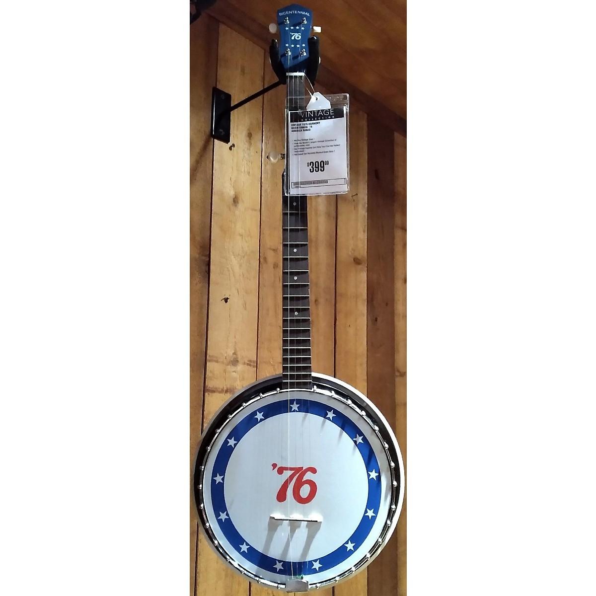Harmony 1976 Bicentennial '76 Banjo