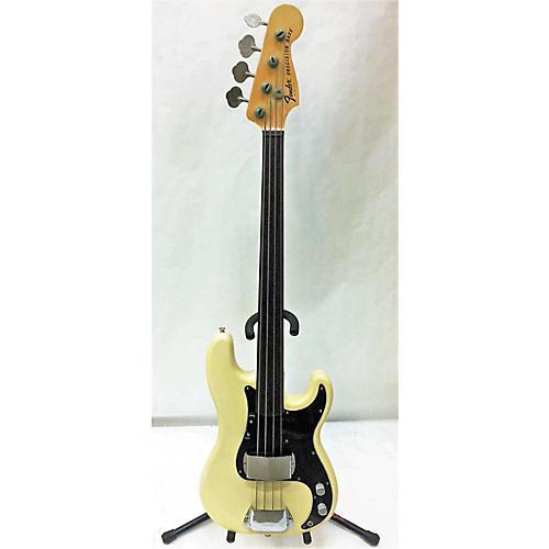 Fender 1976 Standard Precision Bass Fretless Electric Bass Guitar