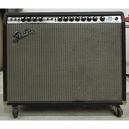 Fender 1976 Twin Reverb 2x12 Master Volume Tube Guitar Combo Amp