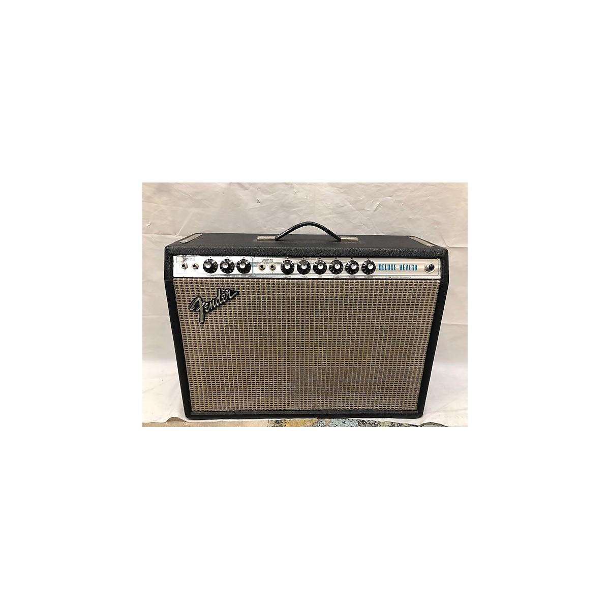Fender 1977 DELUXE REVERB Tube Guitar Combo Amp