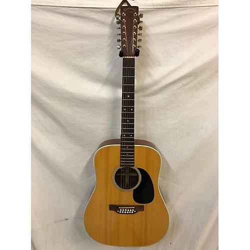 Takamine 1977 F-400 12 String Acoustic Guitar