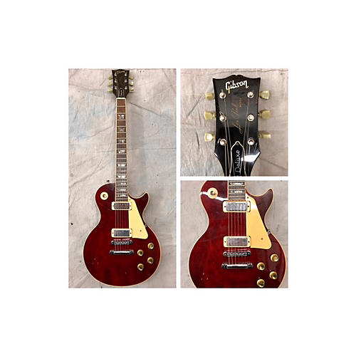 Gibson 1977 Les Paul Deluxe Solid Body Electric Guitar