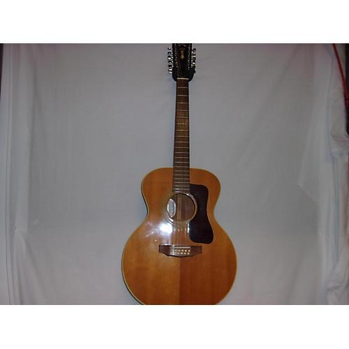 vintage guild 1977 standard f212 12 string 12 string acoustic guitar guitar center. Black Bedroom Furniture Sets. Home Design Ideas