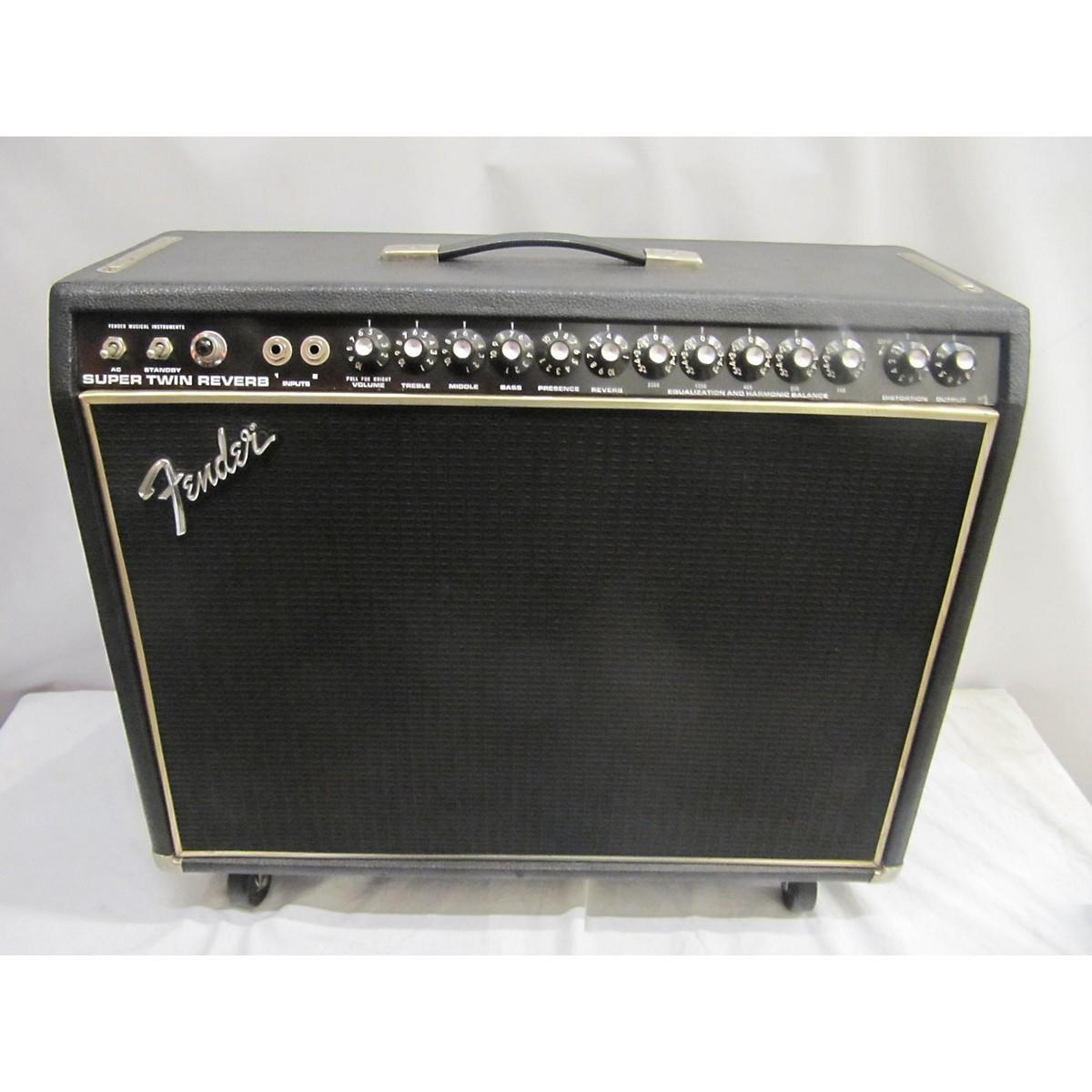 Fender 1977 Super Twin Reverb Tube Guitar Combo Amp