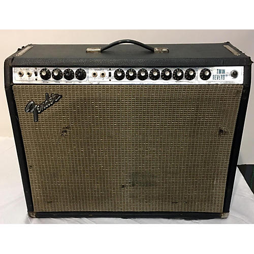 Fender 1977 Twin Reverb 2x12 Tube Guitar Combo Amp