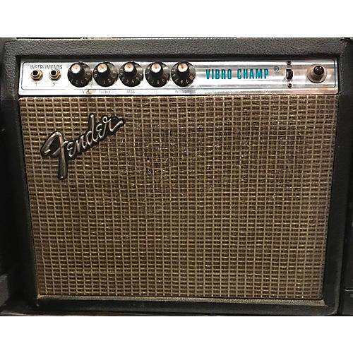 Fender 1977 Vibro Champ Tube Guitar Combo Amp