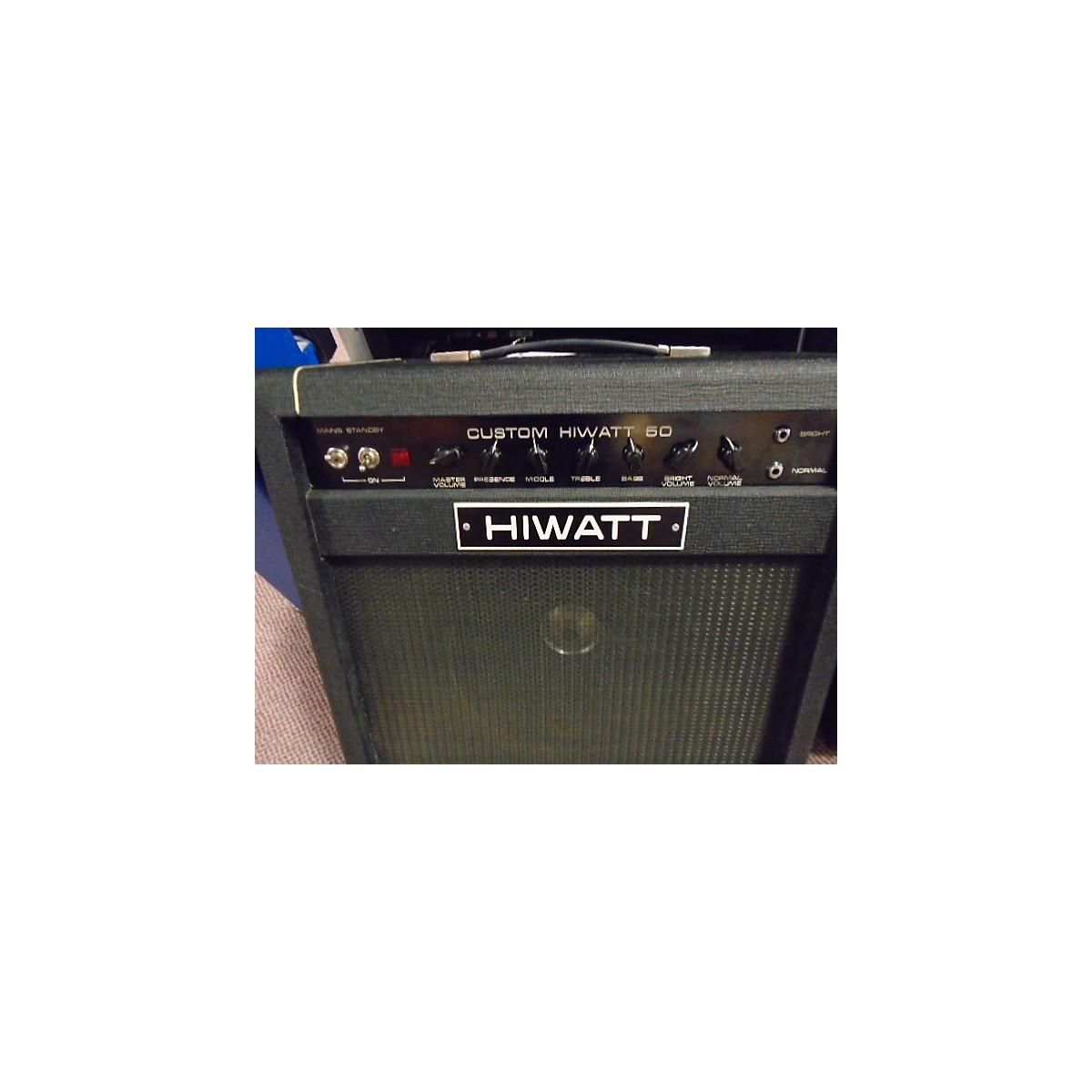 Hiwatt 1978 SA-112 Tube Guitar Combo Amp