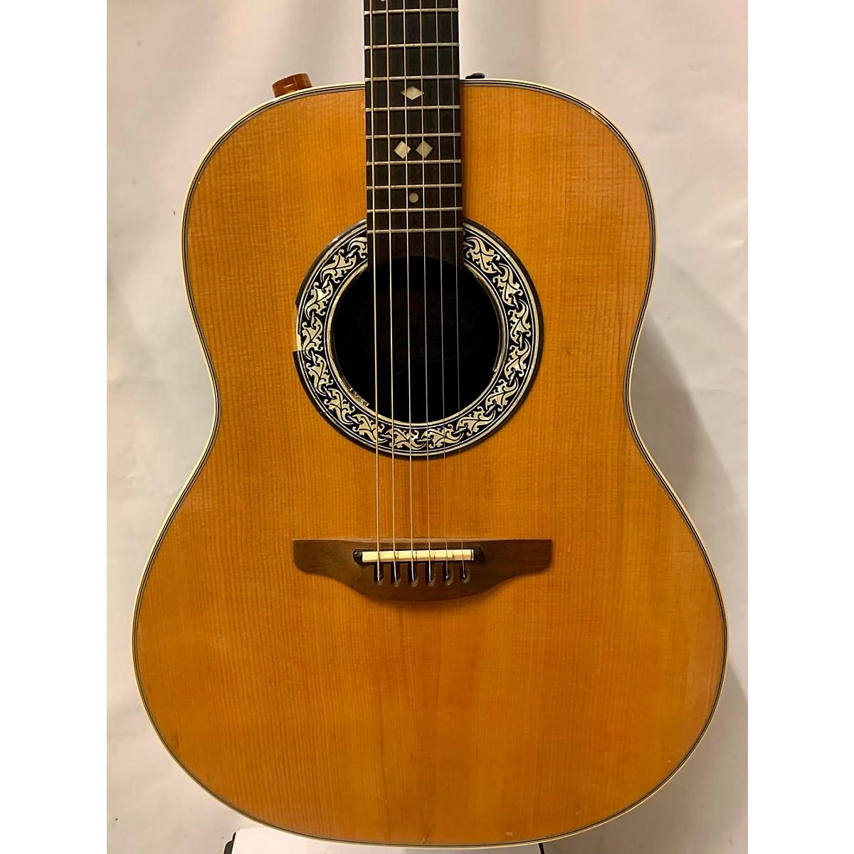 Ovation 1979 1612 Balladeer Acoustic Electric Guitar