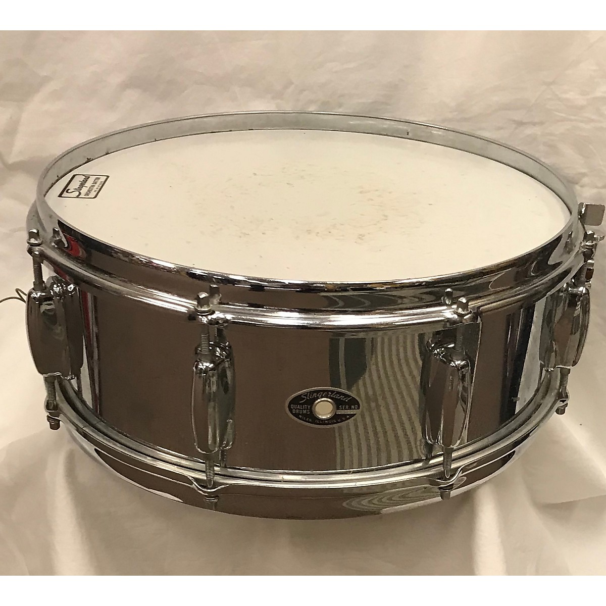 Slingerland 1979 5.5X14 Steel Snare Drum Drum
