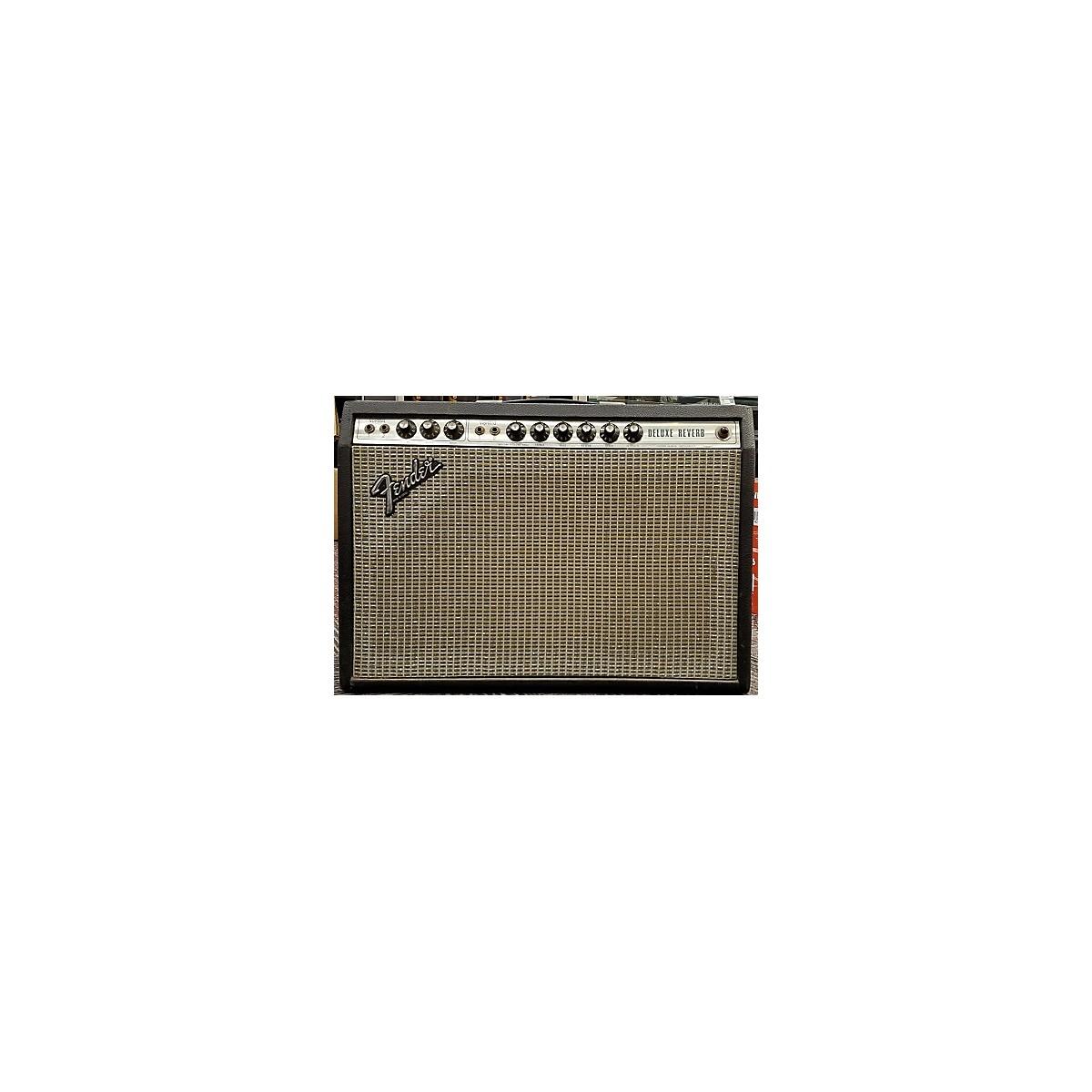Fender 1979 Deluxe Reverb 22W 1x12 Tube Guitar Combo Amp