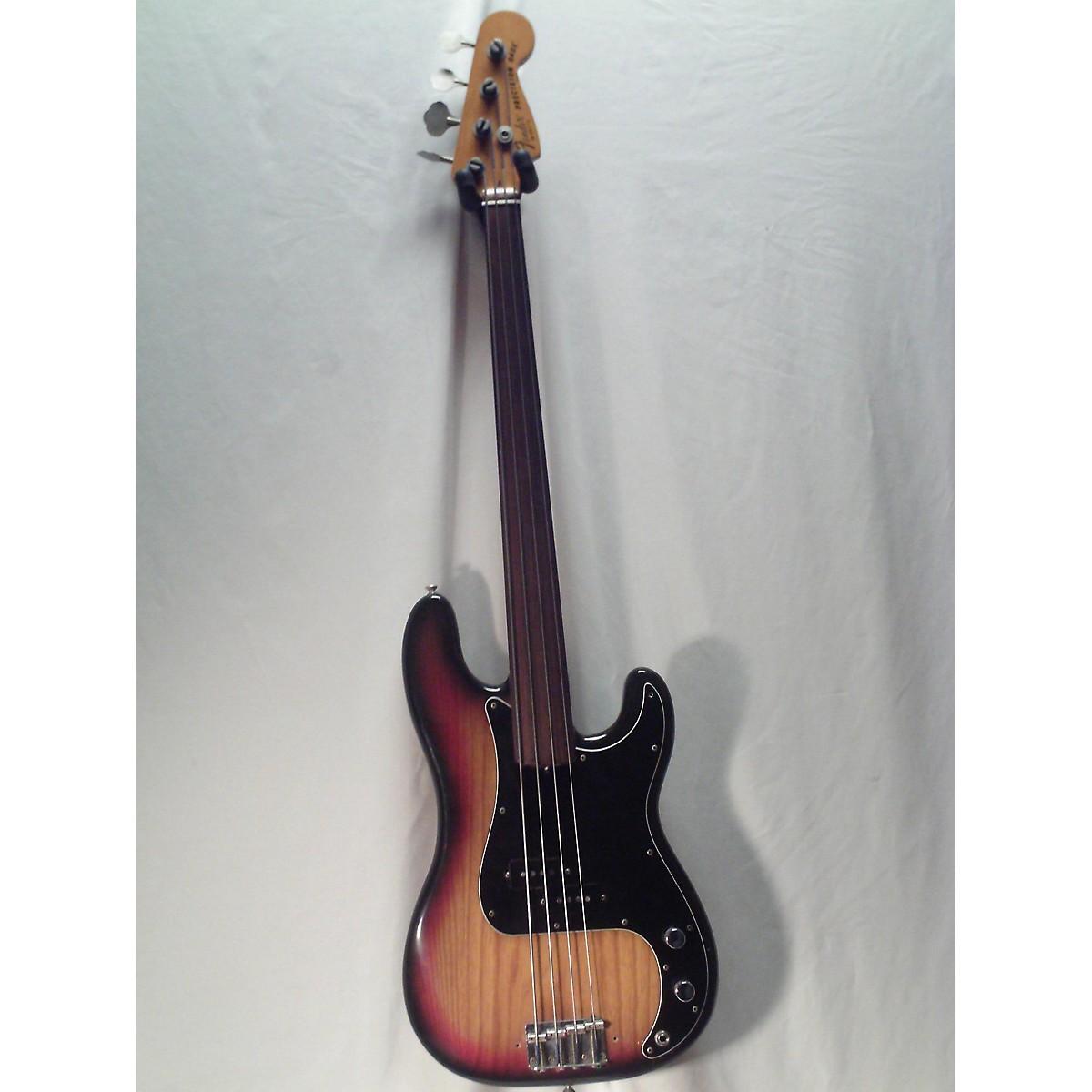 Fender 1979 Standard Precision Bass Fretless Electric Bass Guitar