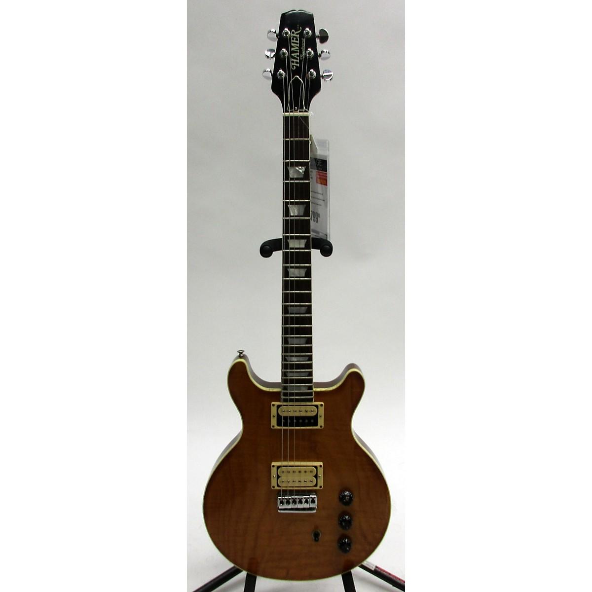 Hamer 1979 Sunburst Solid Body Electric Guitar