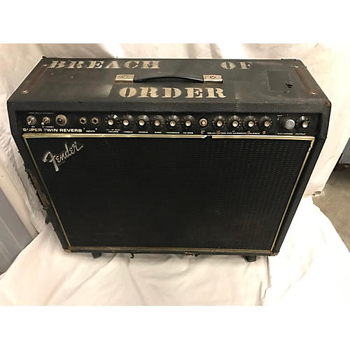 Fender 1979 Super Twin Tube Guitar Combo Amp
