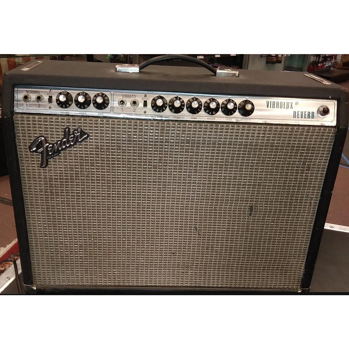 Fender 1979 Virbolux Reverb Tube Guitar Combo Amp
