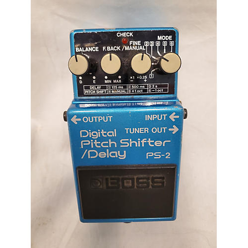 Boss 1980 1980's Boss PS-2 Pitch Shifter Delay Effect Pedal