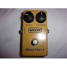 MXR 1980 Distortion Plus Block Effect Pedal