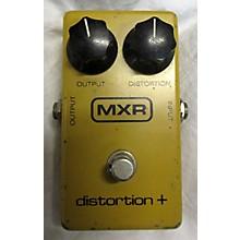 MXR 1980 Distortion Plus Block Logo Effect Pedal