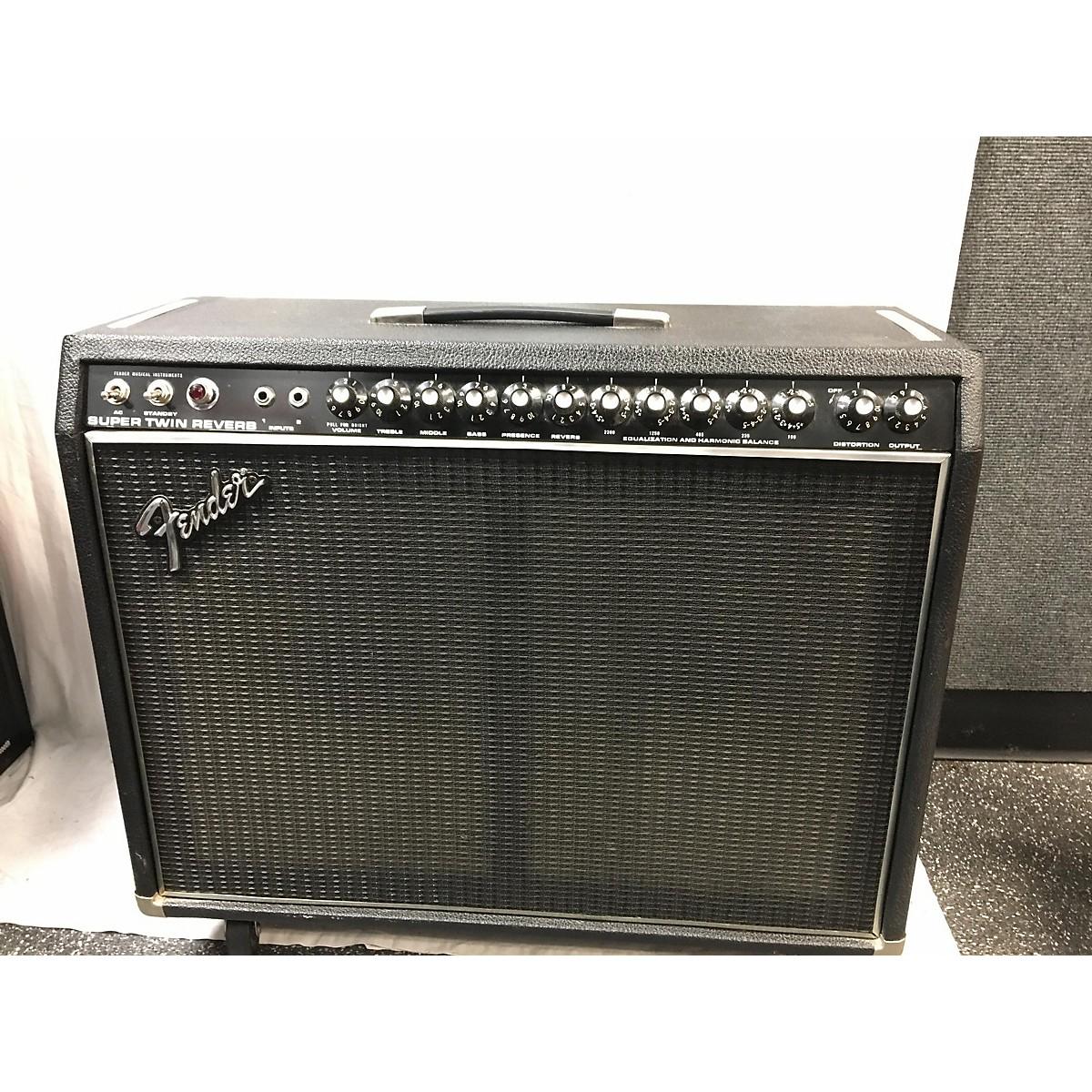 Fender 1980 Super Twin Reveb Tube Guitar Combo Amp