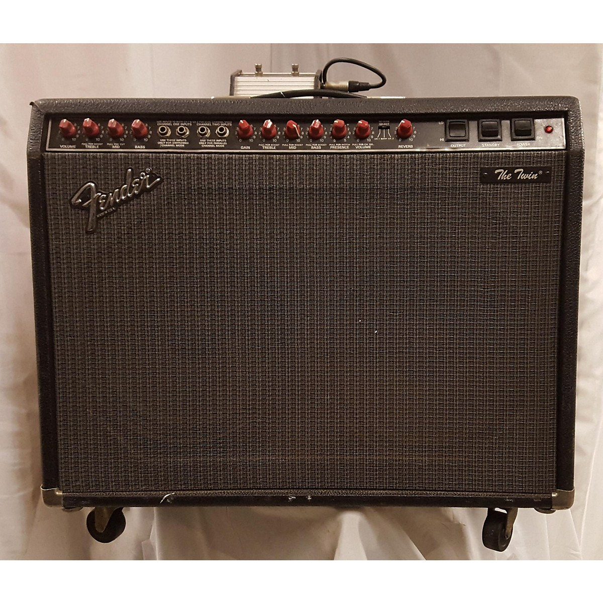 Fender 1980 The Twin Guitar Power Amp