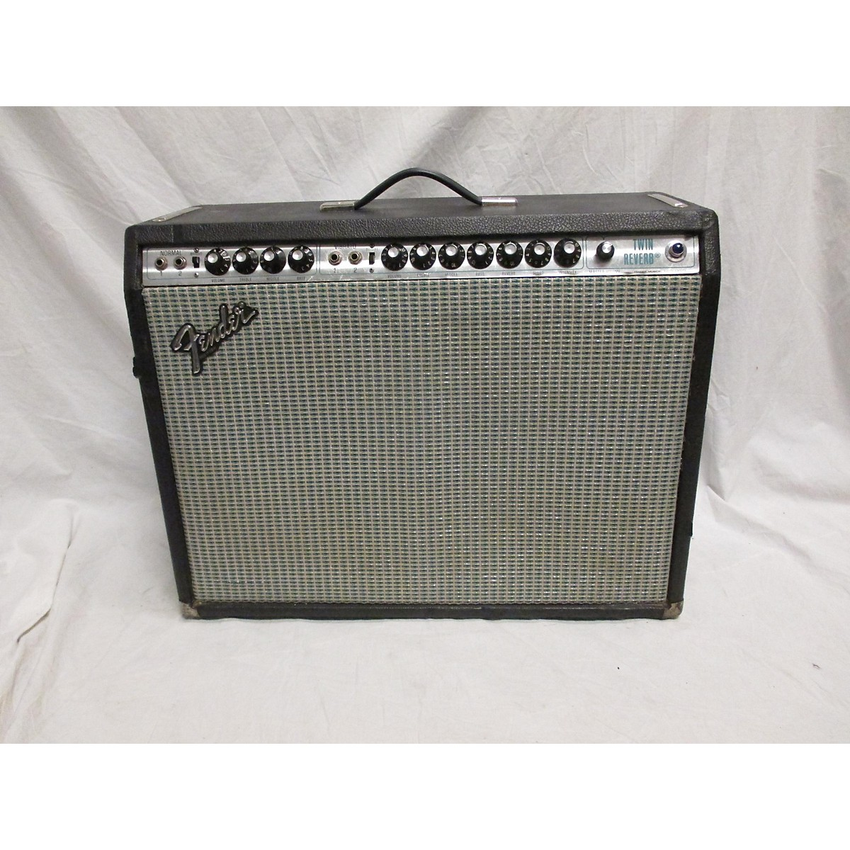 Fender 1980 Twin Reverb Tube Guitar Combo Amp